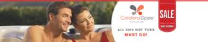 Caldera Spas deals at Robonson's Hot Tubs