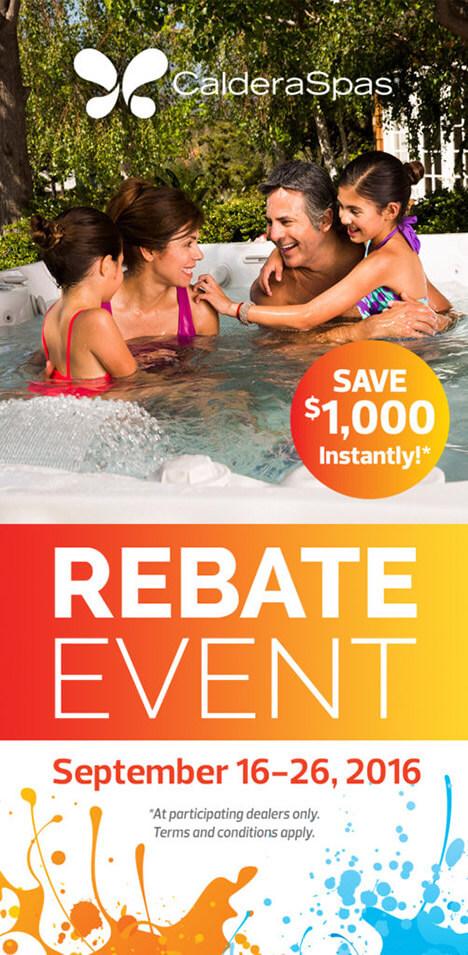 Instant Rebate Sale – Sept. 16-26