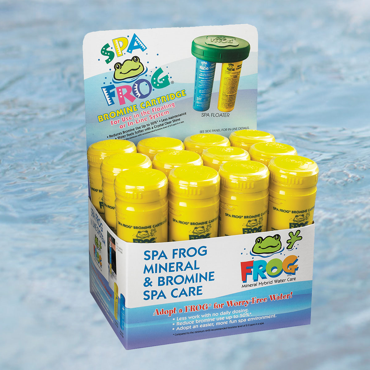 Spa Frog 174 Bromine Cartridge 12 Pack Robinson S Hot Tubs