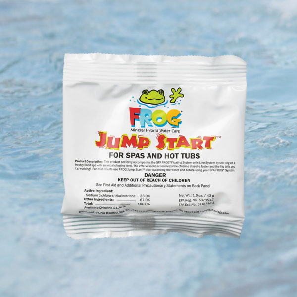 caldera spa frog water care