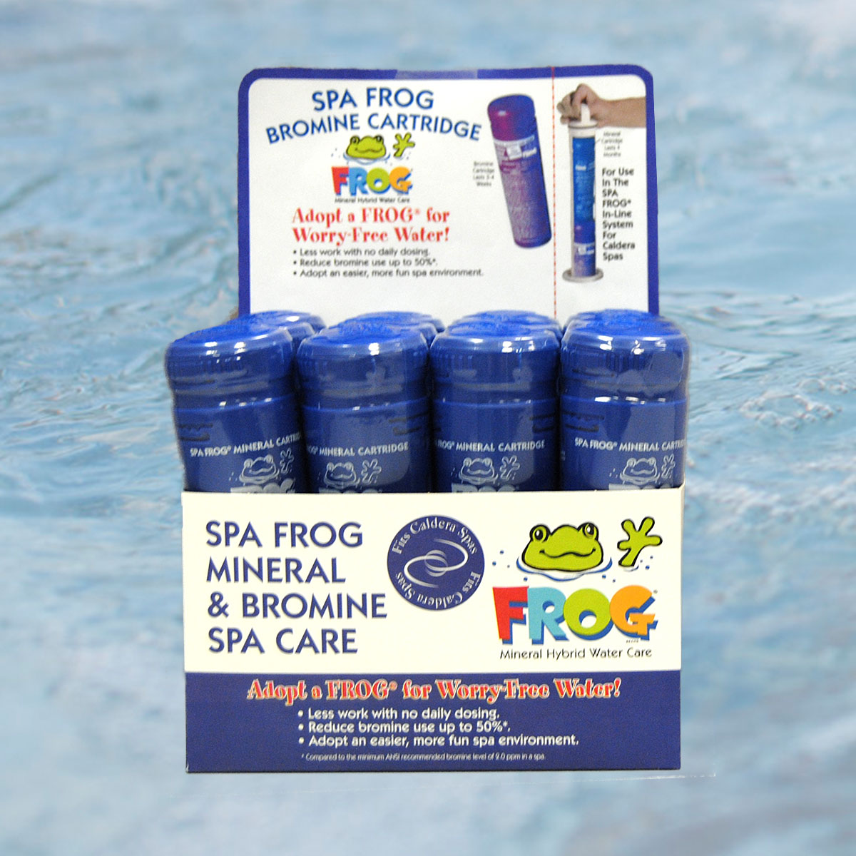 caldera spa frog water care