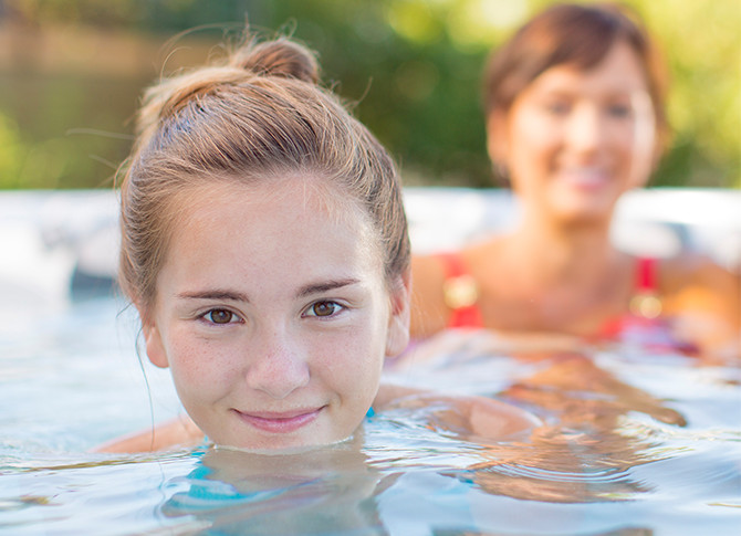 Monarch® Water Care Family Image